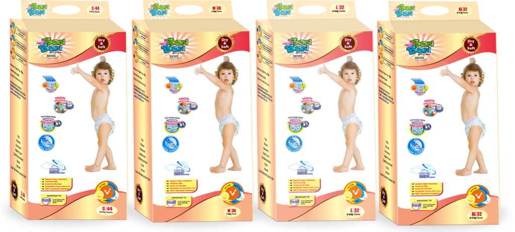 Dry & Soft Baby Diaper Pants